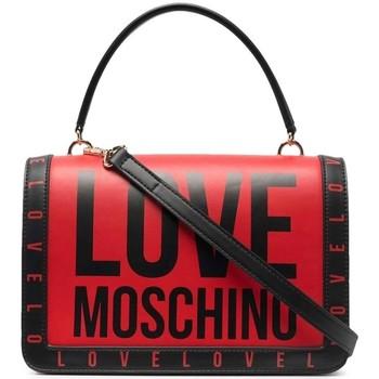 Väskor Dam Handväskor med kort rem Love Moschino JC4181PP1DLI0500 Röda