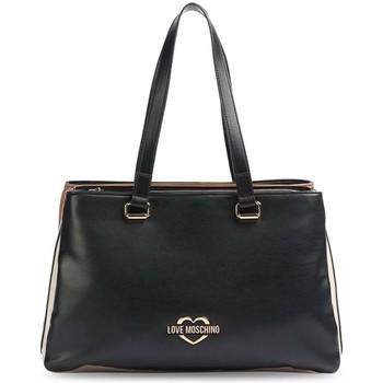 Väskor Dam Handväskor med kort rem Love Moschino JC4171PP1DLG100A Svarta