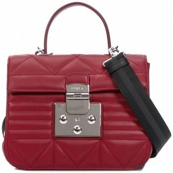 Väskor Dam Handväskor med kort rem Furla Fortuna Rödbrunt