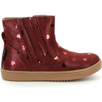Skor Flickor Boots Aster Chaussures fille  Welsea bordeaux