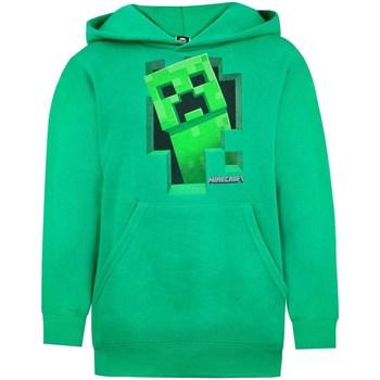 textil Pojkar Sweatshirts Minecraft  Grön