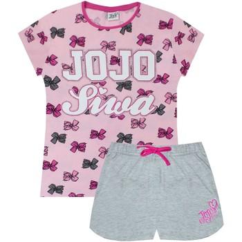 textil Flickor Pyjamas/nattlinne Jojo Siwa  Rosa/grå