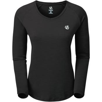 textil Dam Långärmade T-shirts Regatta  Svart