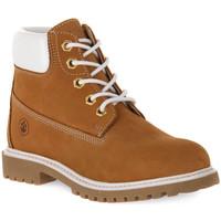 Skor Pojkar Boots Lumberjack 001 ANKLE BOOT LACE Nero