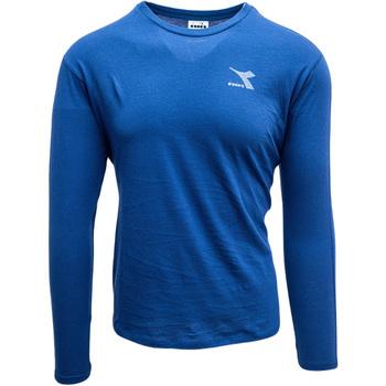 textil Herr Sweatshirts Diadora Ls Blink Blå