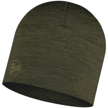 Accessoarer Mössor Buff Merino Lightweight Hat Beanie Vert
