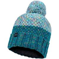 Accessoarer Dam Mössor Buff Janna Knitted Fleece Hat Beanie Bleu