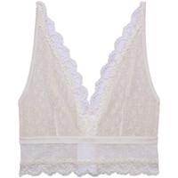 Underkläder Dam Triangel- & bygelfri bh Underprotection SS2040 WHE Beige