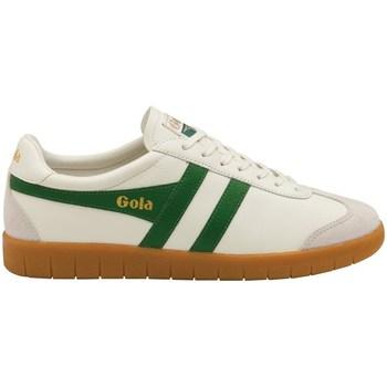 Skor Herr Sneakers Gola Hurricane Leather Krämiga
