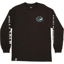 textil Herr Långärmade T-shirts Salty Crew T-shirt à manches longues  Deadeye Standard noir