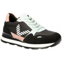Skor Dam Sneakers Etika 56159 svart