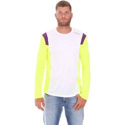 textil Herr Långärmade T-shirts Diadora 102175720 Vit