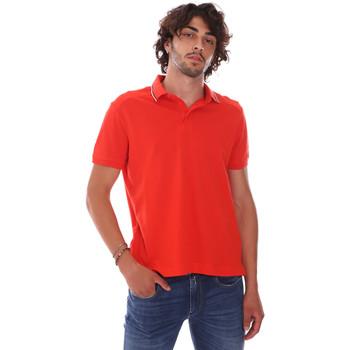 textil Herr Kortärmade pikétröjor Invicta 4452241/U Röd