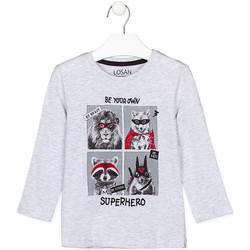 textil Barn Långärmade T-shirts Losan 125-1013AL Grå