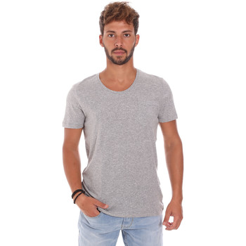 textil Herr T-shirts Antony Morato MMKS01003 FA100092 Grå