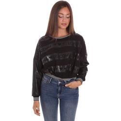 textil Dam Sweatshirts Fracomina FP21WT9015F400N5 Svart