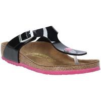 Skor Barn Flip-flops Birkenstock 845863 Svart