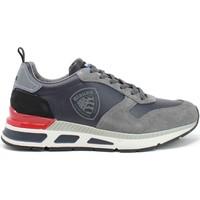 Skor Herr Sneakers Blauer F1HILO03/LES Grå