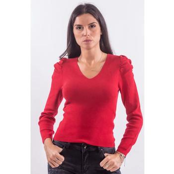 textil Dam Sweatshirts Fracomina FR21WT7060K45901 Röd
