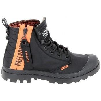 Skor Höga sneakers Palladium Pampa Unlcked U Noir Svart