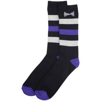 Accessoarer Herr Strumpor Independent Span stripe socks Svart