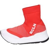 Skor Dam Höga sneakers Rucoline BH885 Röd