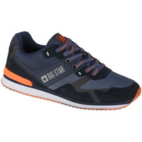 Skor Herr Sneakers Big Star Shoes Bleu marine