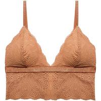 Underkläder Dam Triangel- & bygelfri bh Underprotection HD2012 CLY Brun