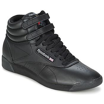 Skor Dam Höga sneakers Reebok Classic FREESTYLE HI Svart
