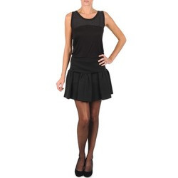 textil Dam kjolar Manoush JUPE MERINGUE Svart