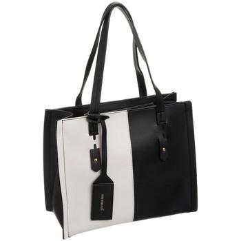 Väskor Dam Handväskor med kort rem Monnari 73420 Vit, Svarta