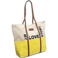 Väskor Dam Handväskor med kort rem Monnari 67970 Gula, Beige