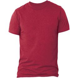 textil Herr T-shirts Bella + Canvas CA3413 Solid röd triblend