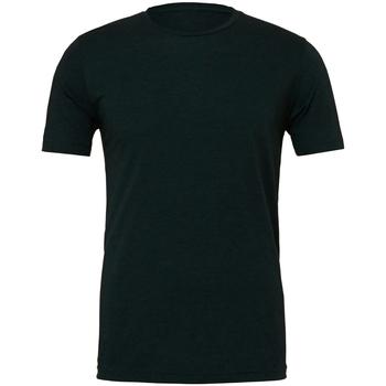 textil Herr T-shirts Bella + Canvas CA3413 Emerald Triblend