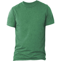 textil Herr T-shirts Bella + Canvas CA3413 Grön triblend