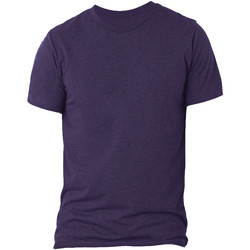 textil Herr T-shirts Bella + Canvas CA3413 Lila triblend
