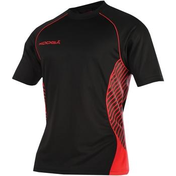 textil Dam T-shirts Kooga K108B Svart/röd