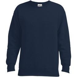 textil Herr Sweatshirts Gildan GD049 Sport Mörk marinblå
