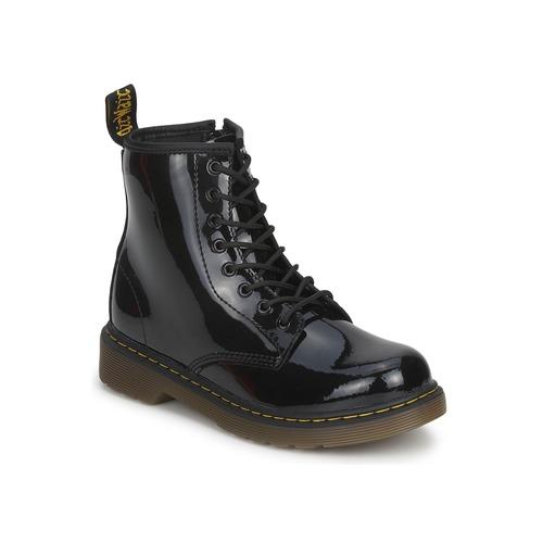 Skor Flickor Boots Dr Martens DELANEY Svart