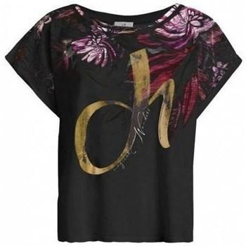 textil Dam T-shirts Deha D4312210009 Svarta