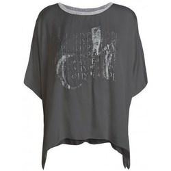 textil Dam T-shirts Deha D43333 Grafit