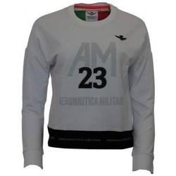textil Dam Sweatshirts Aeronautica Militare FE1608DF42373 Gråa
