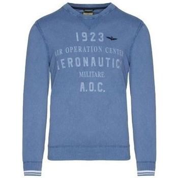 textil Herr Tröjor Aeronautica Militare MA1327L43421 Blå