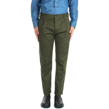 textil Herr Chinos / Carrot jeans Etro 1W703 8627 Green