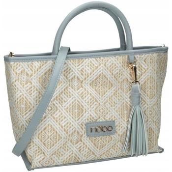 Väskor Dam Handväskor med kort rem Nobo 46040 Beige