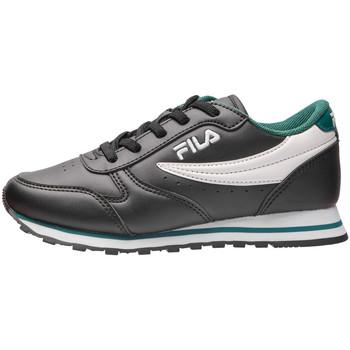 Skor Barn Sneakers Fila 1010783 Svart