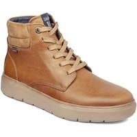 Skor Herr Höga sneakers CallagHan 45508 Brun