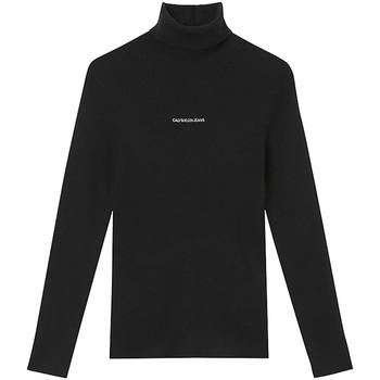textil Dam Tröjor Calvin Klein Jeans J20J216606 Svart