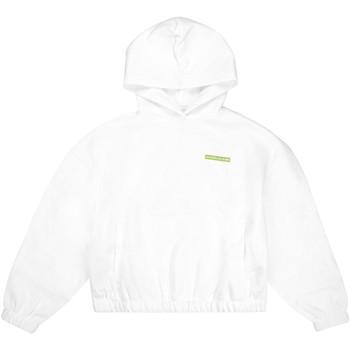 textil Dam Sweatshirts Calvin Klein Jeans J20J217292 Vit