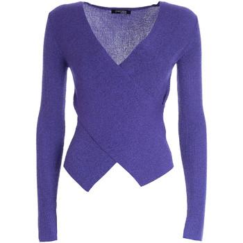 textil Dam Tröjor Fracomina F321WT7016K48001 Violett